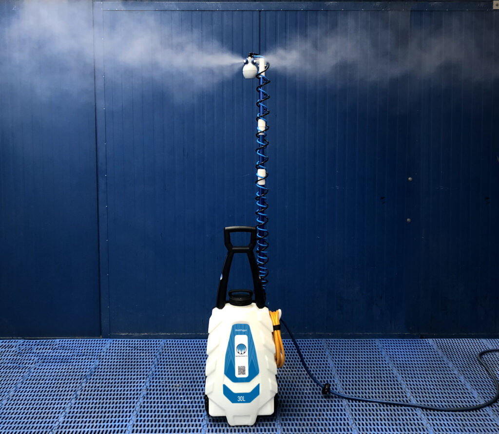 SprayCart for small area disinfection and sanitization